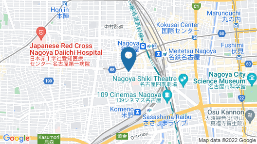 Shochikubai Hostel No.2 - Men Only Map