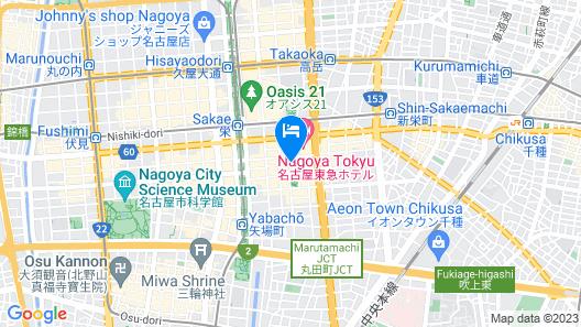 APA Hotel Nagoya-Sakae Map