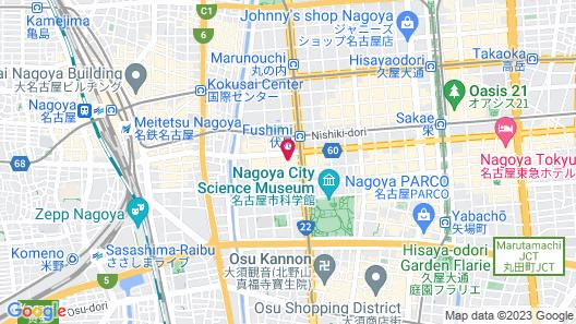 DAIWA ROYAL HOTEL D-CITY Nagoya Fushimi Map