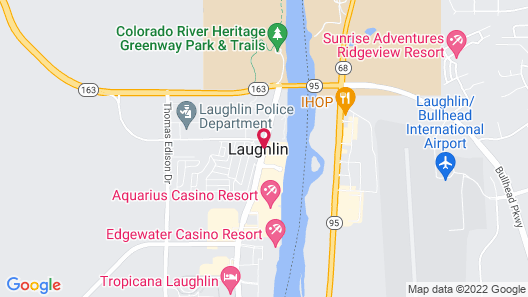 Don Laughlin's Riverside Resort Hotel & Casino Map