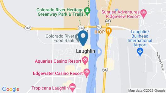 Don Laughlin's Riverside Resort Hotel & Casino Map