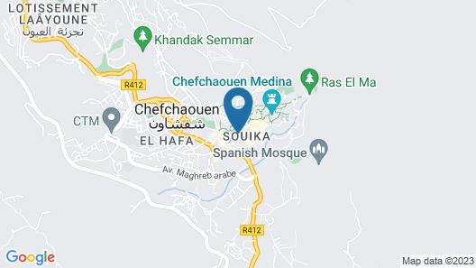 hostel souika Map