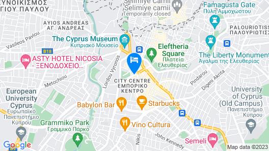 Central Park Residence Map