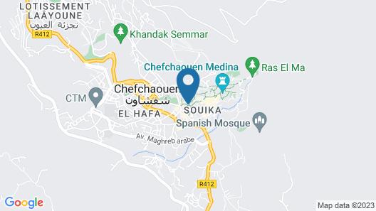 Hotel Abi khancha Map