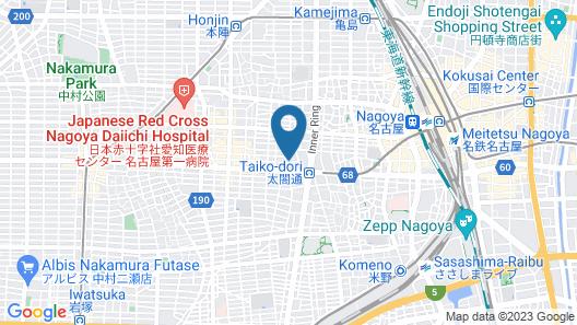 Nakamura-ward-office house 1 Map