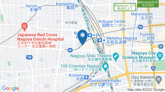 VIA INN NAGOYA SHINKANSEN GUCHI Map