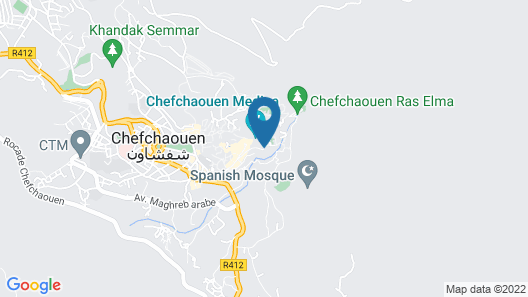 Hostel Aline Map