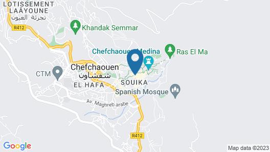 Riad Hicham Map