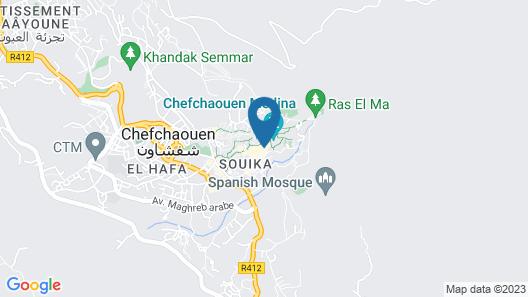 Hotel Parador Map