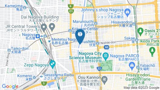 kawa DOCK - Hostel Map
