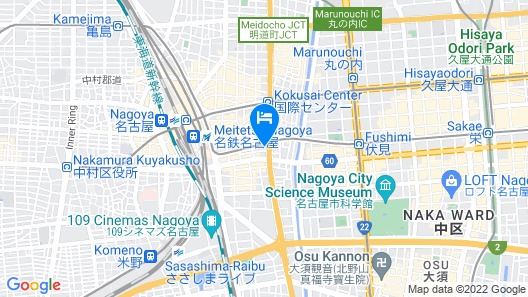 ibis Styles Nagoya Map