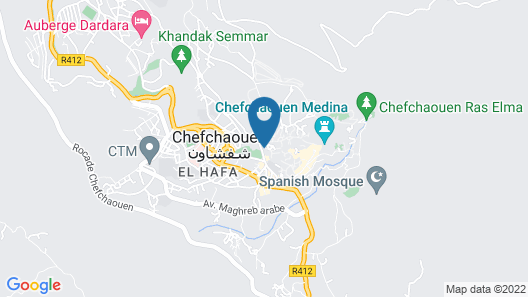 Dar Touijar Map