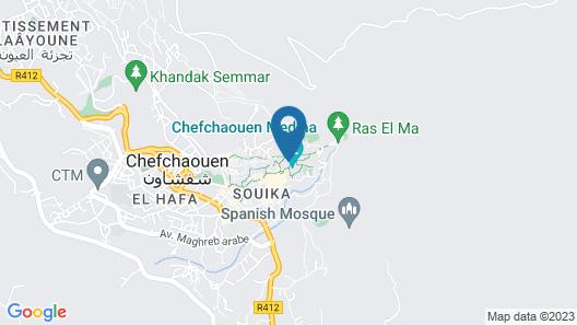 Riad Gharnata Map