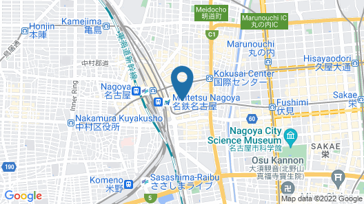 Sotetsu Fresa Inn Nagoya-Sakuradoriguchi Map