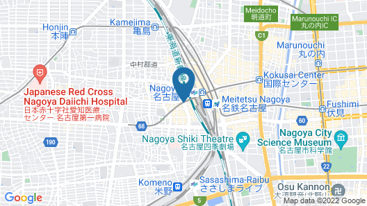 SANCO INN NAGOYASHINKANSENGUCHI ANNEX Map