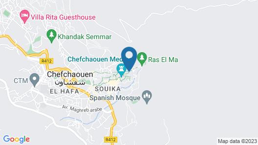 Casa Sabila Map