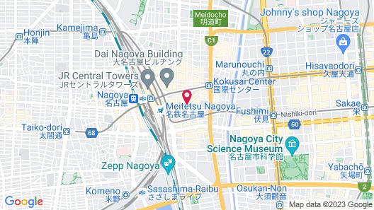 Mitsui Garden Hotel Nagoya Premier Map