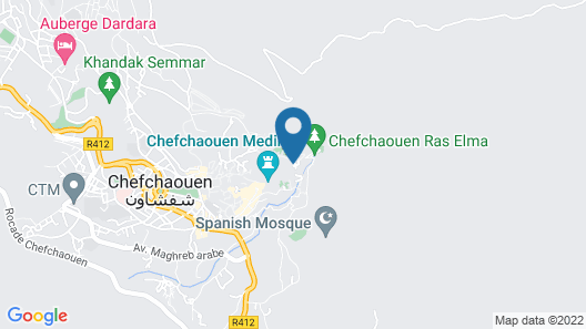 Casa Meryem Map