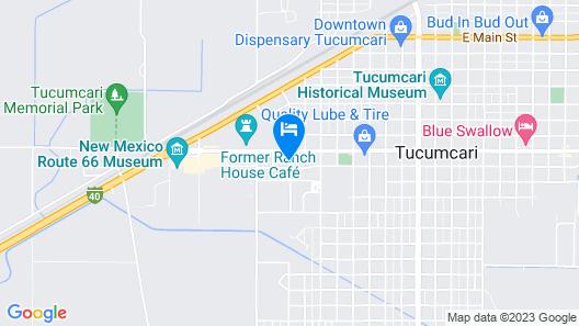 Budget Inn Map