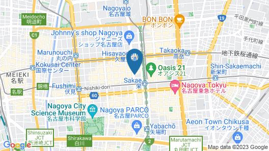 APA Hotel Nagoya-Nishiki EXCELLENT Map