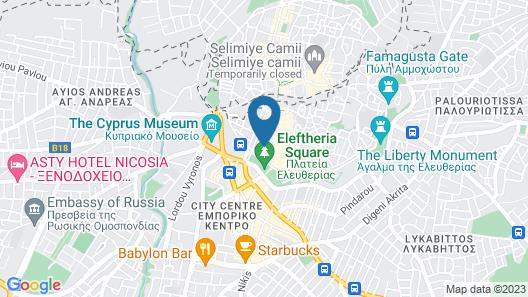 Royiatiko Hotel Map