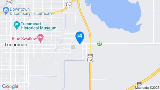 Tucumcari Inn Map