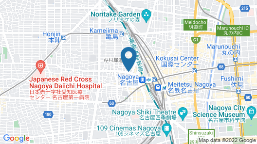 Chisun Inn Nagoya Map