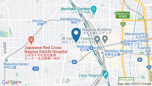 Glocal Nagoya Backpackers Hostel Map