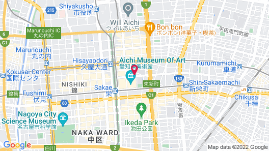 ACCESS by LOISIR HOTEL Nagoya Map