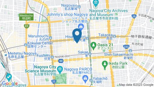 Meitetsu Inn Nagoya Nishiki Map