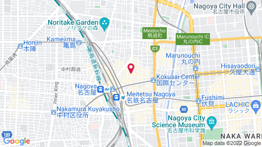 HOTEL UNIZO Nagoya Ekimae Map