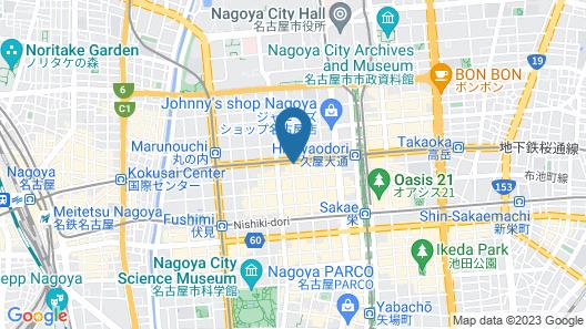 Hotel Keihan Nagoya Map