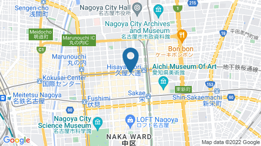 NISHITETSU HOTEL CROOM NAGOYA Map