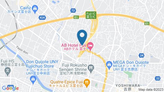 Fuji Park Hotel Map