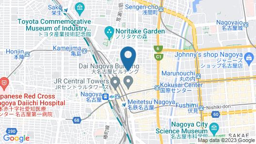 nine hours Nagoya station Map