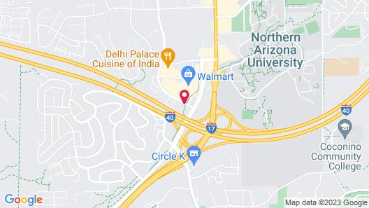 Sleep Inn Flagstaff Map