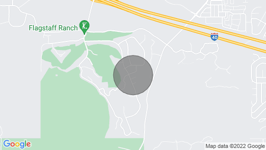 Flagstaff Getaway - Eleven Pines Map