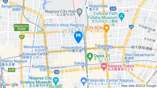 APA HOTEL NAGOYASAKAE-KITA Map