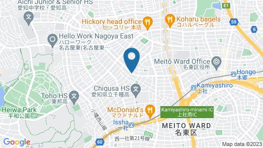 TOHO Learning House - Hostel Map
