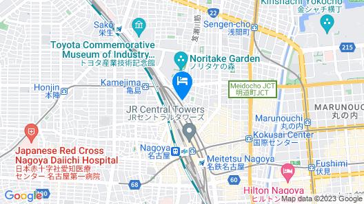 Meitetsu Inn Nagoya Ekimae Map