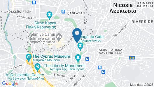 Sylvias Antique House Map