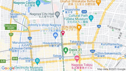 KURETAKE INN NAGOYA HISAYAODORI Map