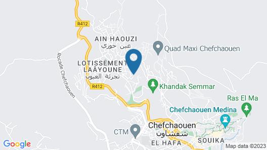 Auberge Dardara Map