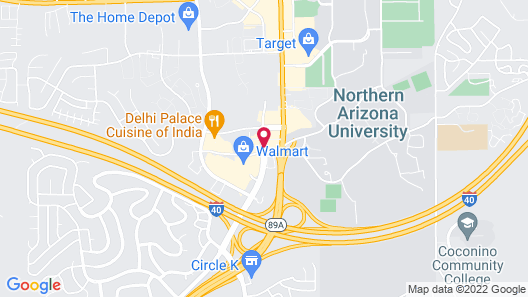 Springhill Suites by Marriott Flagstaff Map