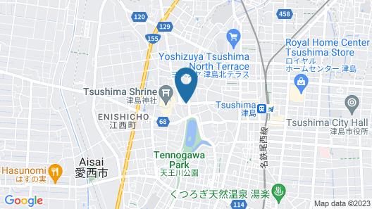 Tsushima Guest House - Hostel Map
