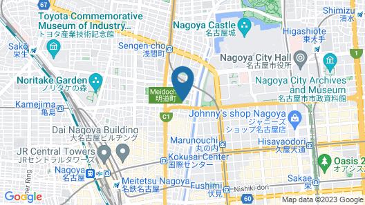 Kyoya Ryokan Map