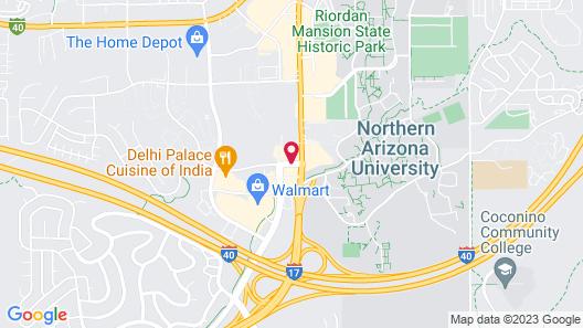 Hilton Garden Inn - Flagstaff Map