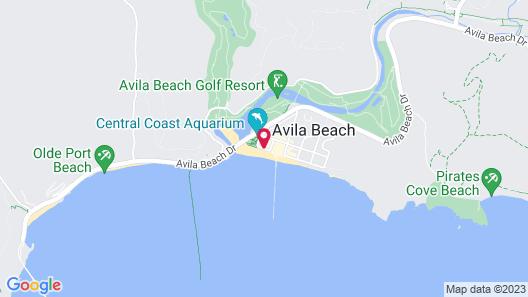 Avila Lighthouse Suites Map