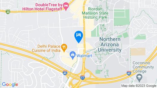 La Quinta Inn & Suites by Wyndham Flagstaff Map