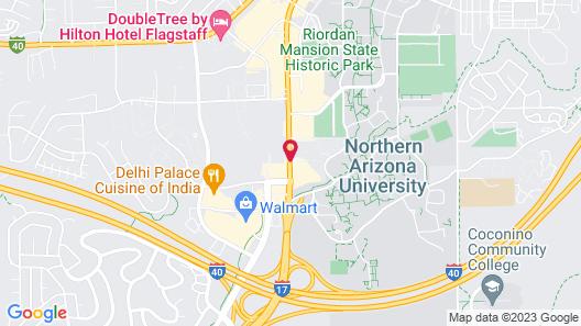 Baymont by Wyndham Flagstaff Map